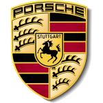 Porsche car batteries logo