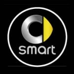 smart small car battery logo