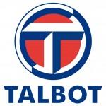 Talbot car battery small logo