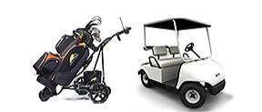 Golf buggy batteries, golf trolley batteries