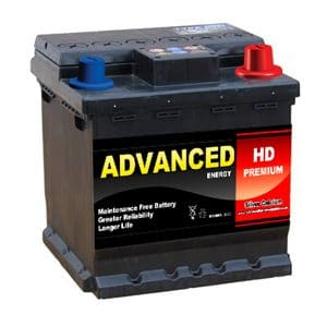 002l HD car battery