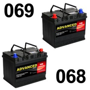 068 and 069 Dual Batteries