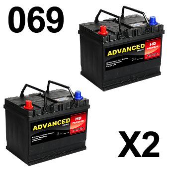 069 Car Battery x 2
