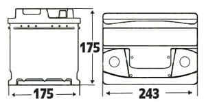 075 battery size