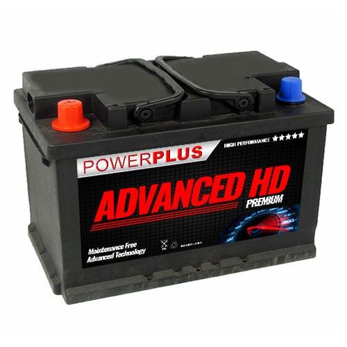 096R car battery HD
