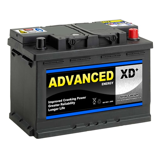 096XD sealed car battery 12v