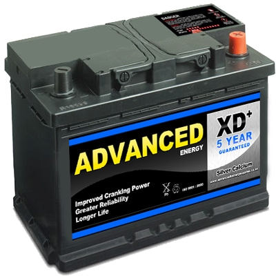 advanced 100xd car battery