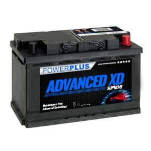 100 xd car battery