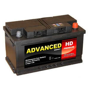 110 car battery hd premium