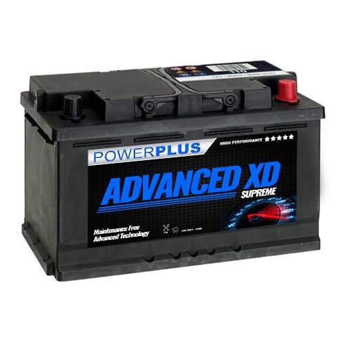 110 xd car battery