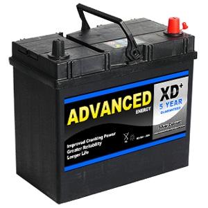 advanced 154xd type car battery abs batteries. Black Bedroom Furniture Sets. Home Design Ideas