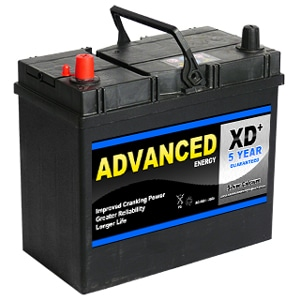 Advanced 155xd Type Car Battery Abs Batteries