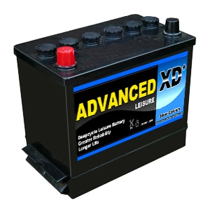 Abs 138 lawn mower battery