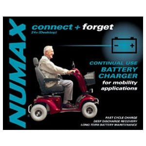 Mobility 2ah battery charger