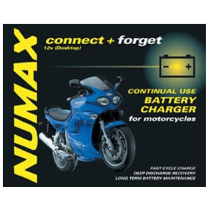 Motorcycle 12v battery charger