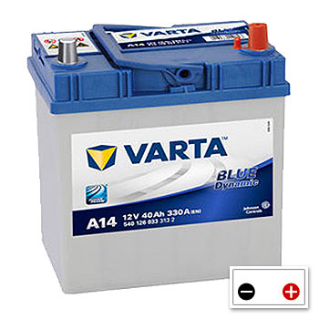 Varta A14 Car Battery