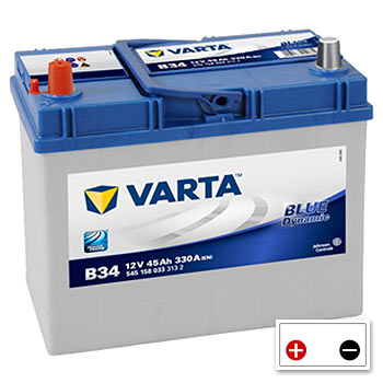 Varta B34 Car Battery