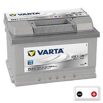 Varta D21 Car Battery