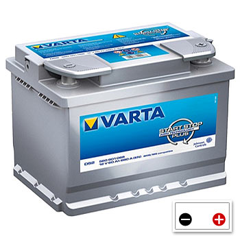 Varta D52 Car Battery