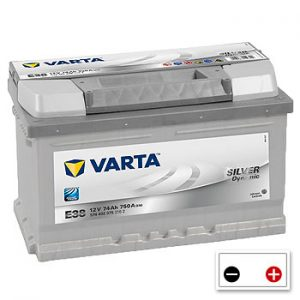 Varta E38 Car Battery