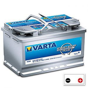 AGM Motorhome Engine Starter Batteries