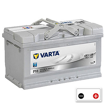 Varta F18 Car Battery