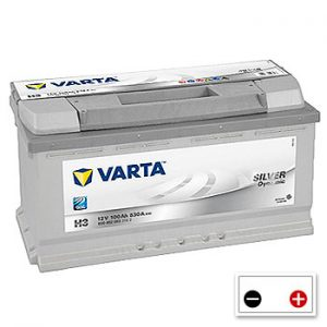 Varta H3 Car Battery