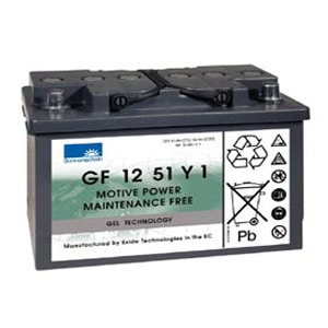 Deep Cycle Motorhome Gel Batteries