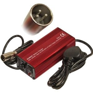 3 pin plug mobility charger