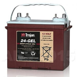 Trojan 12 Volt 24GEL DT Battery