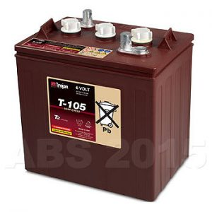 Trojan 6 Volt T105 Battery