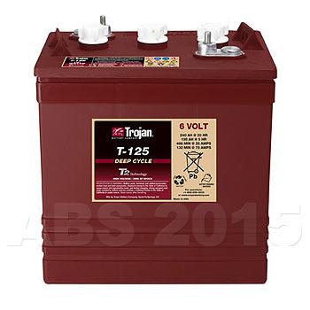 Trojan 6 Volt T-125 Battery
