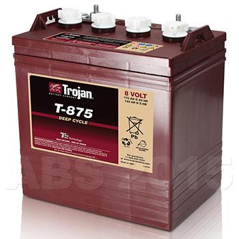 Trojan 8 Volt T875 Battery