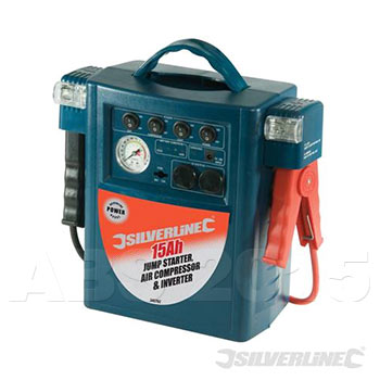 12V Battery Power Inverter and Jump Starter