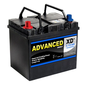005r xd type car battery