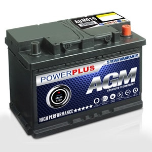 AGM 019 Battery Advanced Start Stop