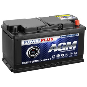AGM 019 Car Battery Start Stop Technology
