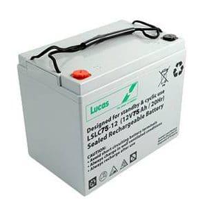Lucas 75ah LSLC battery