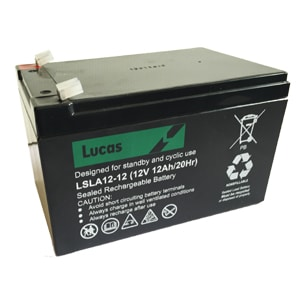 Lucas 12v 12ah battery