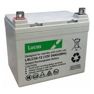 Lucas 34ah LSLC battery