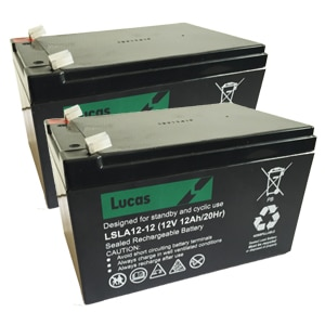 Pair of Lucas 12v 12ah