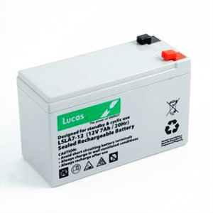 Lucas 12v 7ah battery