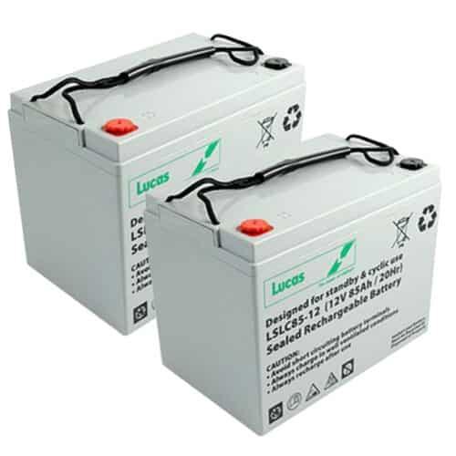 lucas 85ah mobility golf batteries