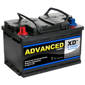 096RXd car battery