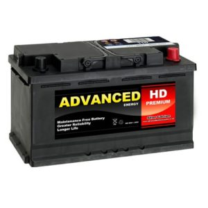 110L car battery image