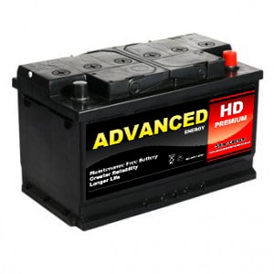 110L car battery HD premium