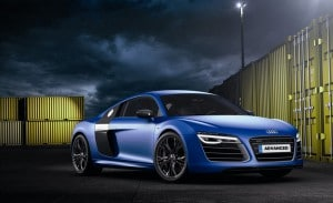 Audi car battery background