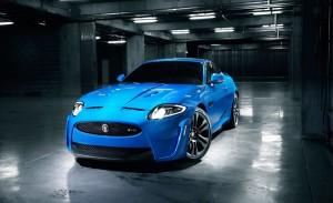 Jaguar car batteries background