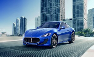 Maserati car battery background