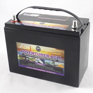 Leoch AGM 120ah leisure battery